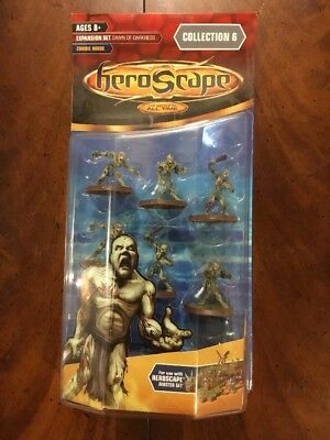 Heroscape Zombie Horde Dawn Of Darkness Wave 6 Complete Expansion New