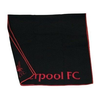 Liverpool Aqualock Golf Caddy Towel - Black - Football Fc Official Licensed New