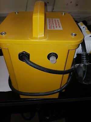 NEW! KVA Site Transformer 110V Twin Outlet 16 AMP KVA