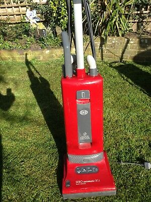 Sebo X1.1 Upright Vacuum Cleaner, in Red