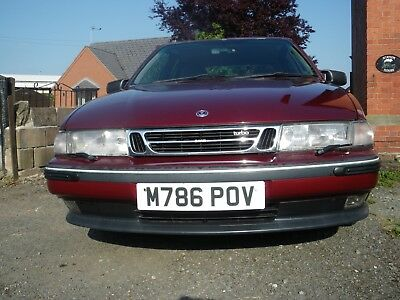 SAAB 9000 2.0 CSE EcoPower, manual transmisssion, classic car