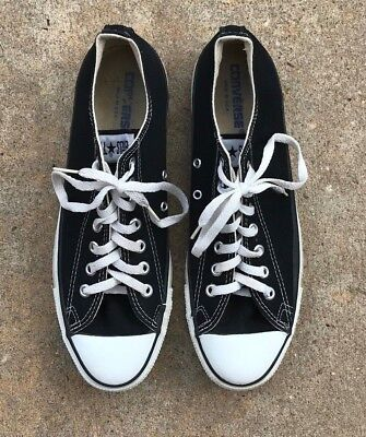 VTG 80s / 90s Converse All Star Chuck Taylor Made in USA Canvas OG Sz: 10.5
