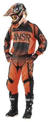Answer Syncron Orange/Blk Jersey & Pant Combo Set Motocross A17.5 Off Road Gear