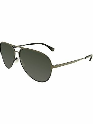 4918ab68 Emporio Armani Men's EA2032-312687-59 Grey Aviator Sunglasses