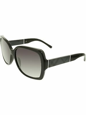 Burberry Women's Gradient BE4160-30018G-58 Black Square Sunglasses