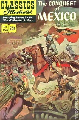 Classics Illustrated 156 The Conquest of Mexico #4 1970 GD/VG 3.0 Stock Image