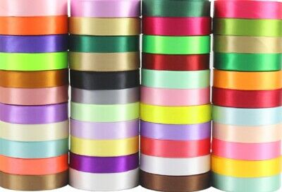 Hardy'sTextile 20mm Satin Ribbon Scrapbook Wedding Wrap Party Decor $2.99/2M