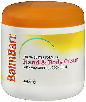 Balm Barr Concentrated Moisturizing Cream with Lanolin - 6 oz, Pack of 2