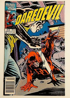 Daredevil #240  Karen Page  The Fatboys And Rotgut  1987