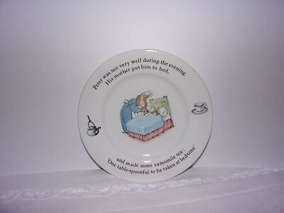 Wedgwood Of Etruria & Barlaston Beatrix Potter Designs, Peter Rabbit 6 3/4 Plate