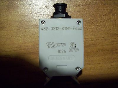 E-T-A  20 Amp Circuit Breaker 482-6212-K1M1-F6So Push Button International
