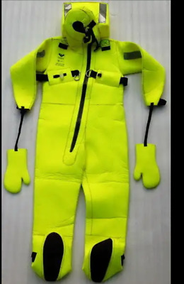 2015 Nos Viking Marine Insulated Survival Immersion Suit Watersports Diving