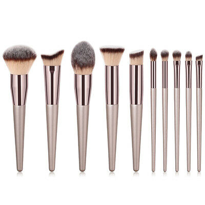 10pcs/Sets Multifunctional Eye Shadow Cosmetic Makeup Brushes Eyebrow Brush Set