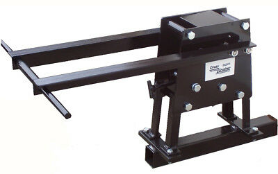"Patented Crazycrusher Rock Crusher with optional 2"" Hitch Mount"