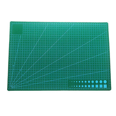 A3 Cutting Mat Double Sides Printed Grid Lines Craft Board Non Slip Crafts