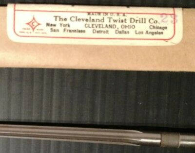 Cleveland  No. 137. Twist Drill Taper Pin Reamer Size 4   NOS