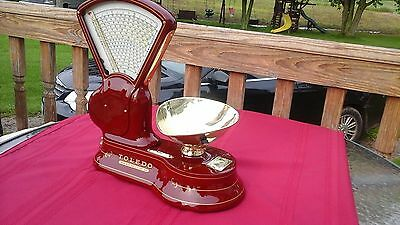 You choose your Custom restored Antique cast iron Toledo candy/ mercantile scale