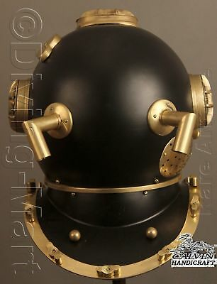 Solid Steel Brass Handmade Navy Mark V Diving Divers Super Helmet Buy
