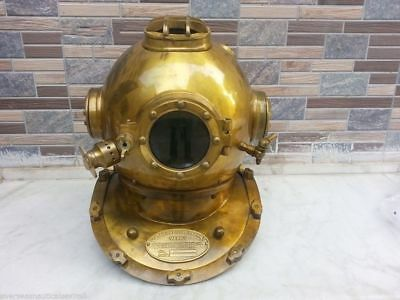 US Navy MK V Antique Vintage Scuba SCA Diving Divers helmet Full size Decor Gift