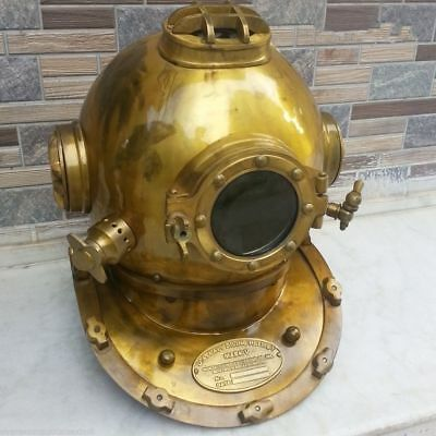 Antique Vintage Scuba SCA US Navy MK V Diving Divers helmet Full size Decor Gift