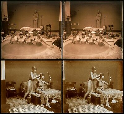 16 Stereofotos french Nude, Jules Richards Atrium, Lot 5, Stereoviews France