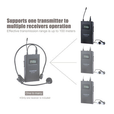 TAKSTAR WTG-500R UHF Wireless Acoustic Transmission Receiver 100m Effective L7A4