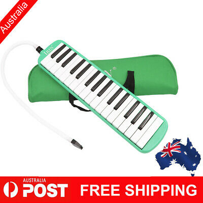 Beginners 32 Piano Keys Melodica Musical Instrument Gift with Bag Blue R2H3