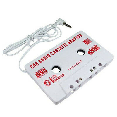 Car Audio Tape Cassette Adapter For iPod Mobile MP3 CD Radio 3.5mm Jack AUX DSUK