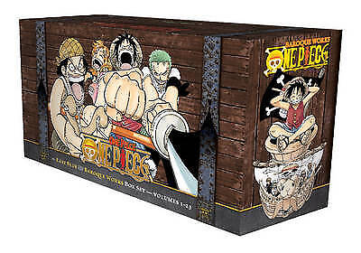 One Piece Box Set: East Blue and Baroque Works (Volumes 1-23, Oda, Eiichiro