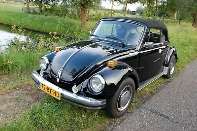 Volkswagen ( VW ) Kever ( Beetle) Cabriolet 1979 black with black top
