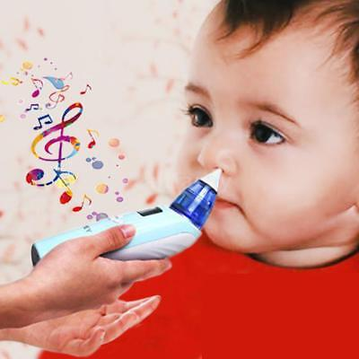 Baby Nasal Aspirator Hygienic Nose Snot Cleaner Suction For Infant Toddler C1Z8