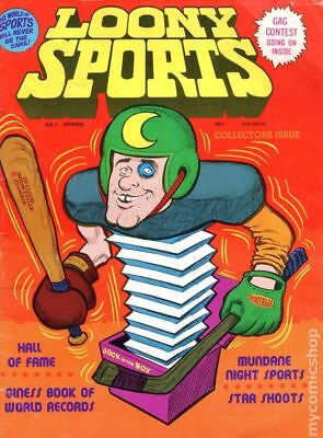 Loony Sports #1 1975 VG 4.0 Stock Image Low Grade