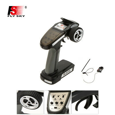 Flysky FS-GT2E AFHDS 2A 2.4ghz 2CH Radio System Transmitter for RC Car Boat C1P7