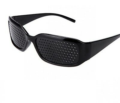 Glasses With Hole For Improving Eyes Women Men Anti-fatigue Vision Care Pin Hole