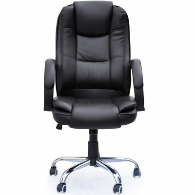 Business PU Leather Faced Swivel Executive Computer Office Chair Heavy Duty /B