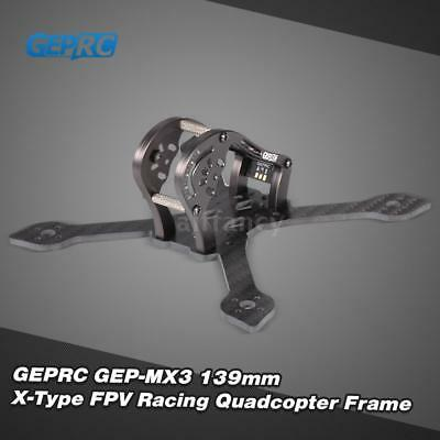 GEPRC Sparrow GEP-M X3 139mm X-Type 3inDrone Quadcopter Frame Kit with LED T3L7