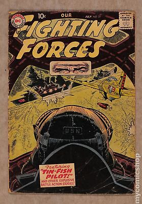 Our Fighting Forces #23 1957 GD+ 2.5