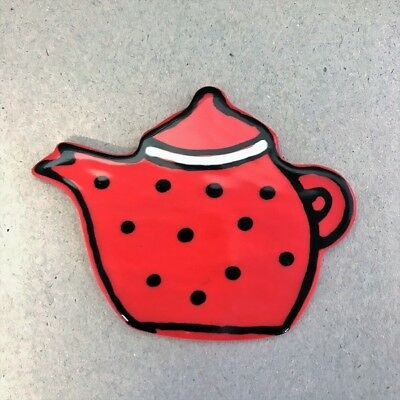 Ceramic Teapot - Red ~ Ceramic Mosaic Tiles