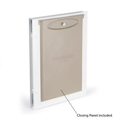 Petsafe Pet Flap - Medium Dogs Cats Metal Aluminium Door Magnetic Weather-Proof