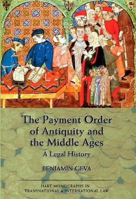 Geva Benjamin-Payment Order Of Antiquity And The Middle A (UK IMPORT)  BOOKH NEW