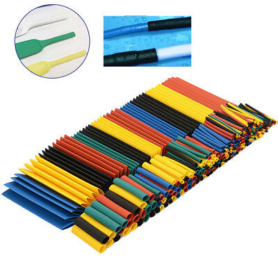 Heat Shrink Tubing for Electrical Sleeving Cable/Wire Heatshrink Tube Kits UK