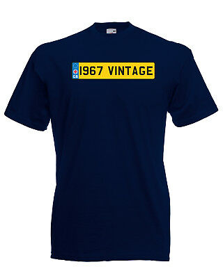 1985 Vintage Number Plate Birthday Graphic Quality t-shirt tee mens unisex