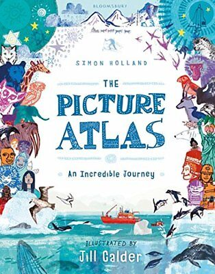 The Picture Atlas by Simon Holland (Hardback, 2017)