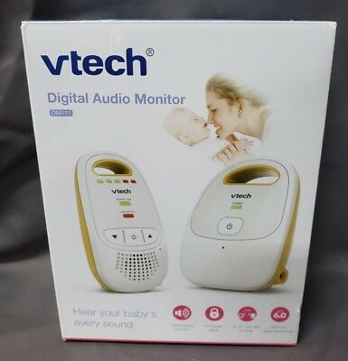 Vtech Safe & Sound Digital Audio Baby Monitor with One Parent Unit DM111 White