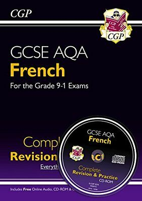 New GCSE French AQA Complete Revision & Practice (with CD & Online Edition) -...