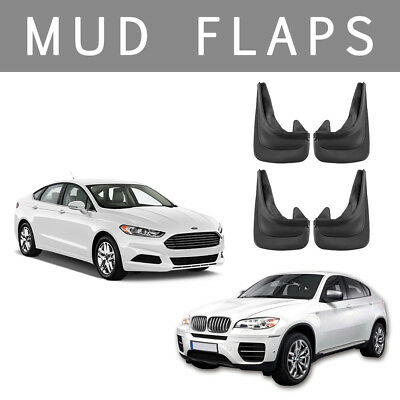 Willkey Mud Flaps Splash guard for Ford Focus mudguard set of 4x front and rear