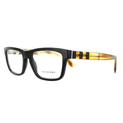 c01b0419317b Burberry Glasses Frames Be2226 3604 Black Havana 53mm Mens 141 00