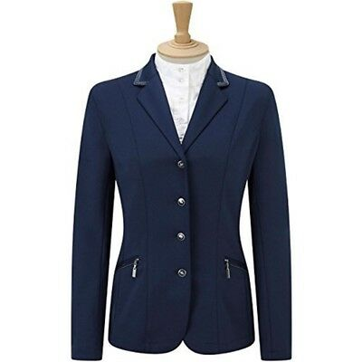 Caldene Competition Girl's Cadence Stretch Jacket - Navy Blue, 28-inch - Girls
