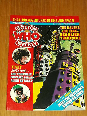 Doctor Who #31 1980 May 14 British Weekly Monthly Magazine Dr Who Dalek Cybermen