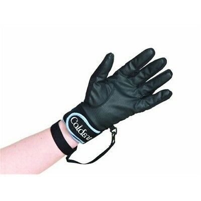 Caldene Waterproof Glove - Black, Medium - Gloves Riding Black